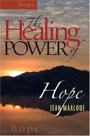 Cover of: The Healing Power of Hope (Healing Power)