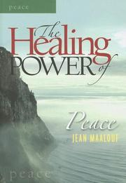 Cover of: The Healing Power of Peace (The Healing Power Series) (The Healing Power Series)