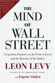 Cover of: The Mind of Wall Street