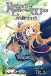 Cover of: Record Of Lodoss War Deedlit's Tale Volume 1