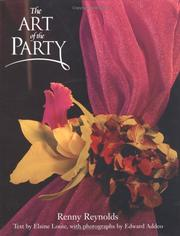 Cover of: The Art of the Party