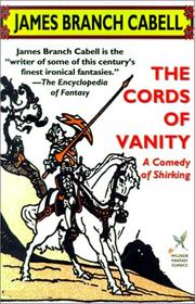 Cover of: The Cords of Vanity