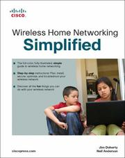 Cover of: Wireless Home Networking Simplified (Networking Technology)