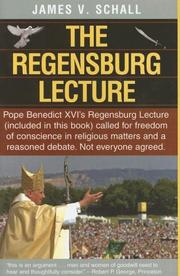 Cover of: The Regensburg Lecture