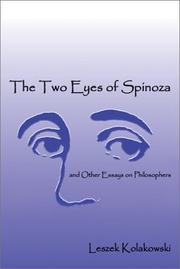 Cover of: The Two Eyes of Spinoza