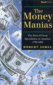 Cover of: The Money Manias