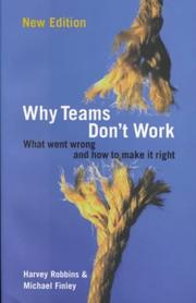 Cover of: Why Teams Don't Work (Business Essentials)