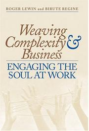 Cover of: Weaving Complexity and Business