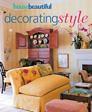 Cover of: House Beautiful Decorating Style (House Beautiful)