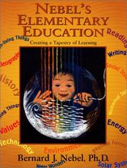 Cover of: Nebel's Elementary Education