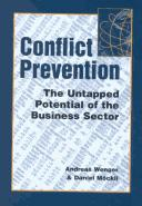 Cover of: Conflict Prevention