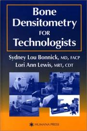 Cover of: Bone Densitometry for Technologists (None)