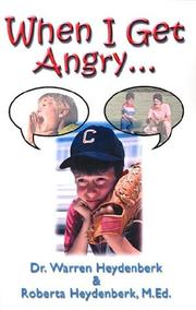 Cover of: When I Get Angry