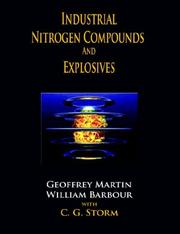 Cover of: Industrial nitrogen compounds and explosives