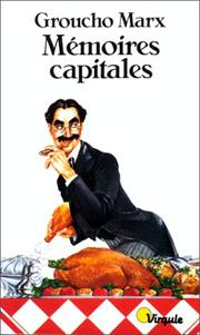 Cover of: Mémoires capitales