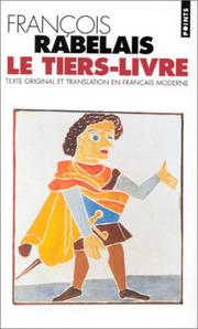Cover of: Le tiers livre