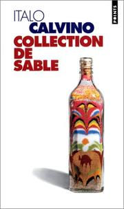 Cover of: Collection de sable