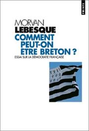 Cover of: Comment Peut-on Etre Breton