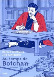 Cover of: Au temps de Botchan, tome 1