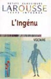 Cover of: Ingénu
