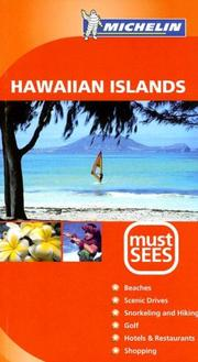 Cover of: Michelin Must Sees Hawaiian Islands