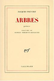 Cover of: Arbres: poèmes