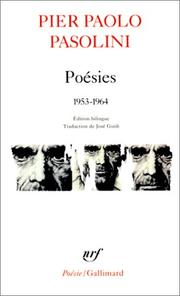 Cover of: Poésies, 1953-1964