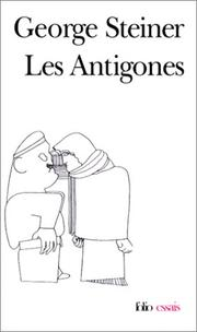 Cover of: Les Antigones