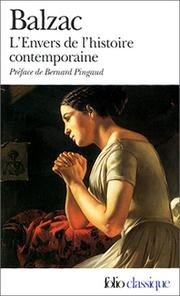 Cover of: L Envers De L'Histoire Contemporaine
