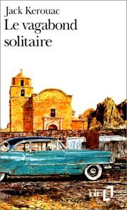 Cover of: Le Vagabond solitaire