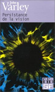 Cover of: Persistance de la vision