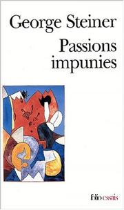 Cover of: Passions impunies