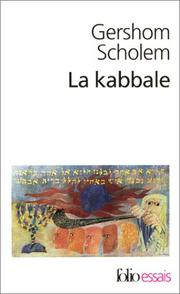 Cover of: La Kabbale