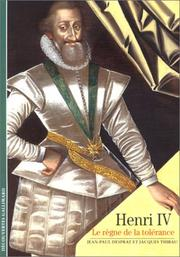 Cover of: Henri IV