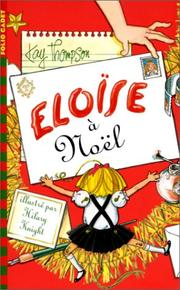 Cover of: Eloise a Noel (Eloise at Christmas) French Edition