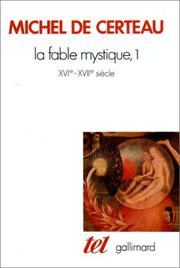 Cover of: La fable mystique, 1