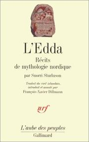Cover of: L'Edda