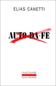 Cover of: Auto-da-fé