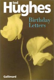 Cover of: Birthday Letters