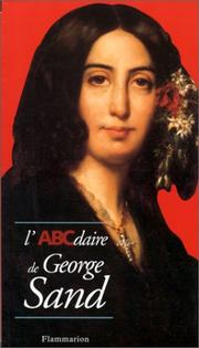 Cover of: L'ABCdaire de George Sand