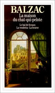 Cover of: La Maison Du Chat-Qui-Pelote