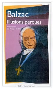 Cover of: Illusions Perdues