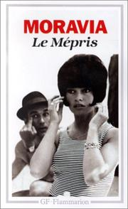 Cover of: Le Mépris