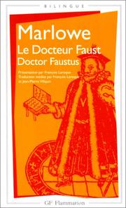 Cover of: Le docteur Faust