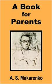 Cover of: A book for parents