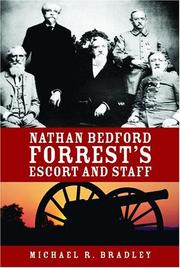 Cover of: Nathan Bedford Forrest's Escort And Staff