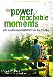 Cover of: The Power of Teachable Moments