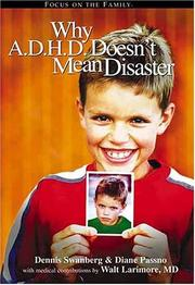Cover of: Why A.D.H.D. Doesn't Mean Disaster