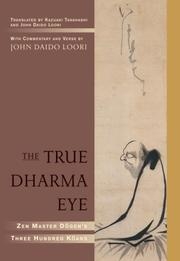 Cover of: The True Dharma Eye