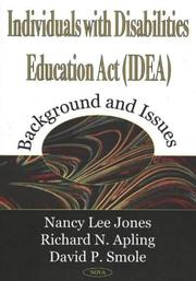 Cover of: Individuals With Disabilities Education Act (Idea